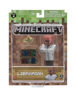 minecraft-minecraft-minecraft-3quot-action-figures-villager-librarian