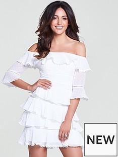 michelle-keegan-dobby-ruffle-dress-ivorynbsp