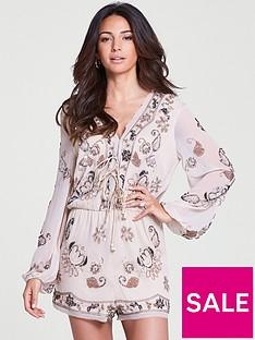 michelle-keegan-sequin-embellished-playsuitnbsp--blush