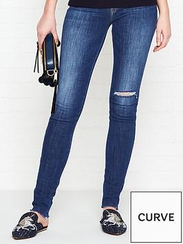 guess-high-waist-skinny-jeans-blue