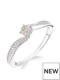 love-diamond-love-diamond-9ct-white-gold-15-point-diamond-cluster-tapered-shoulder-ring