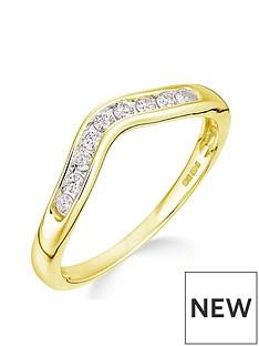 love-diamond-love-diamond-9ct-yellow-gold-15-point-diamond-wishbone-ring