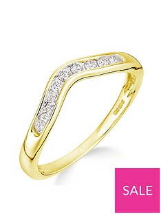 love-diamond-love-diamond-9ct-yellow-gold-15-point-diamond-wishbone-ring