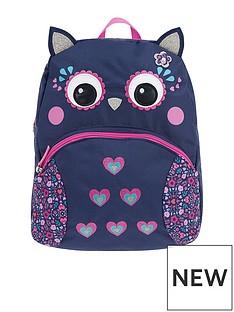 accessorize-ellen-owl-nylon-backpack