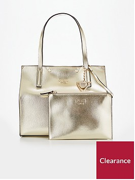 guess-kinley-carryall-bag-gold