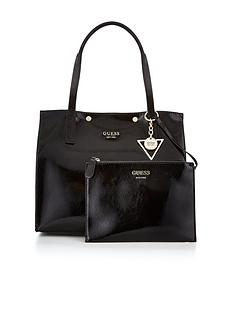 guess-kinley-carryall-bag-black