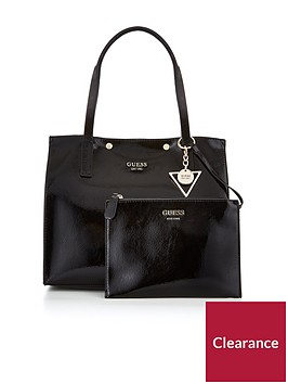 guess-kinley-carryall-bag-black