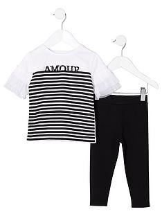 river-island-mini-girls-white-stripe-print-t-shirt-outfit