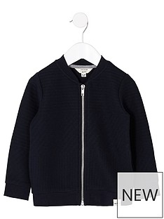 river-island-mini-mini-boys-navy-bomber-jacket