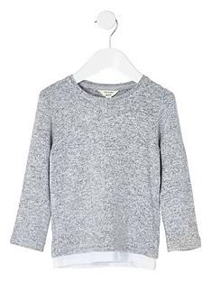 river-island-mini-boys-grey-layered-hem-long-sleeve-top