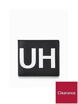 boss-logo-leather-wallet