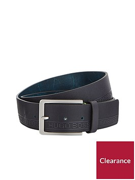 boss-logo-embossed-leather-belt