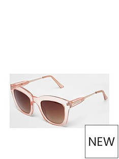 river-island-clear-frame-sunglasses-pink