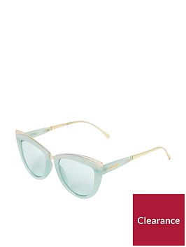 river-island-river-island-mint-green-cat-eye-sunglasses