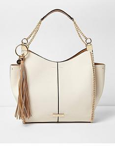 river-island-beige-chain-side-slouch-bag