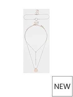 river-island-river-island-circle-choker-necklace