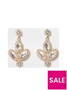 river-island-rose-gold-stone-dangle