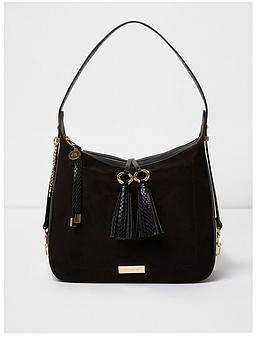 river-island-tassel-shoulder-bag-black
