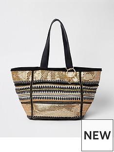 river-island-river-island-black-mix-oversized-winged-beach-bag
