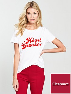 v-by-very-heartbreaker-slogan-tee