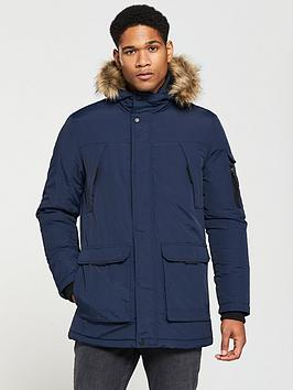 v-by-very-faux-fur-trim-parka