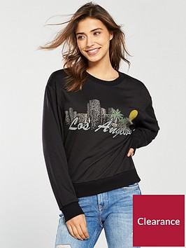 v-by-very-los-angeles-slogan-sweat-black