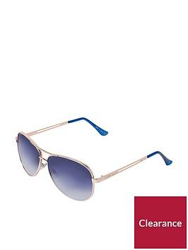 river-island-aviator-sunglasses--nbspgradientnbspblue-lensnbsp