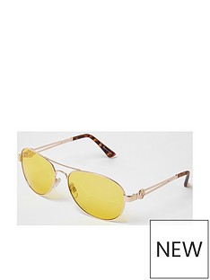 river-island-sunglasses--nbsppale-yellownbsp