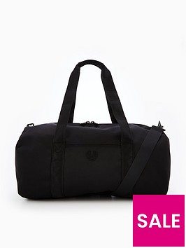 fred-perry-tonal-track-barrel-bag