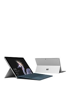 Image of Microsoft Surface Pro Intel Core M, 4Gb Ram, 128Gb Ssd, 12.3 Inch Laptop Tablet With Type Cover - Cobalt - Surface With Microsoft Office 365 Home