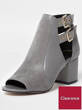 river-island-river-island-wide-fit-buckle-peep-toe-shoe-boot--grey