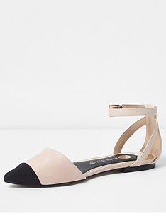 river-island-river-island-two-part-pointed-shoe--light-beige