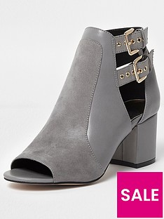 river-island-buckle-shoe-boot--grey
