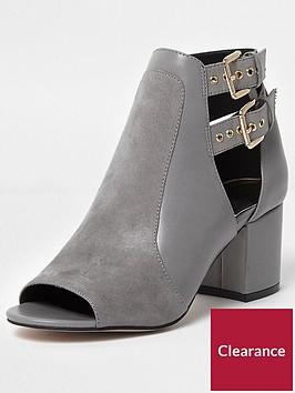 river-island-buckle-shoe-boot--grey