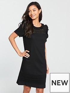 v-by-very-linen-tunic-dress-blackwhitenbsp