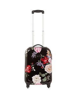 myleene-klass-myleene-klass-4-wheel-black-floral-cabin-case