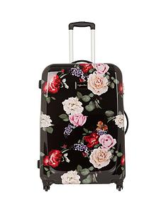 myleene-klass-myleene-klass-4-wheel-black-floral-large-case