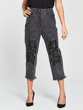 Religion Dash Embellished Jeans