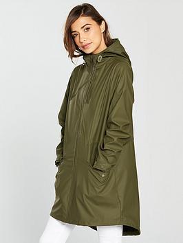 Vila Cloud Oversized Jacket - Khaki