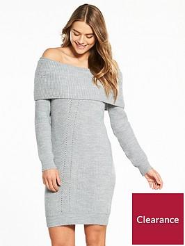 miss-selfridge-bardot-knitted-dress