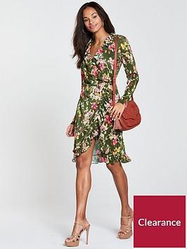 vila-tasja-wrap-long-sleeve-dress