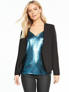 wallis-giglio-edge-to-edge-jacket-black