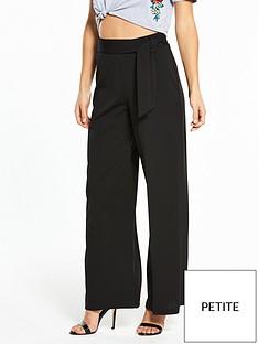 miss-selfridge-petite-wide-leg-trouser-black