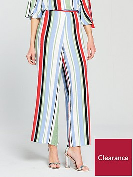 vila-esmerelda-stripe-print-pant-bluenbsp