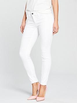 Vila Commit Jeans - White