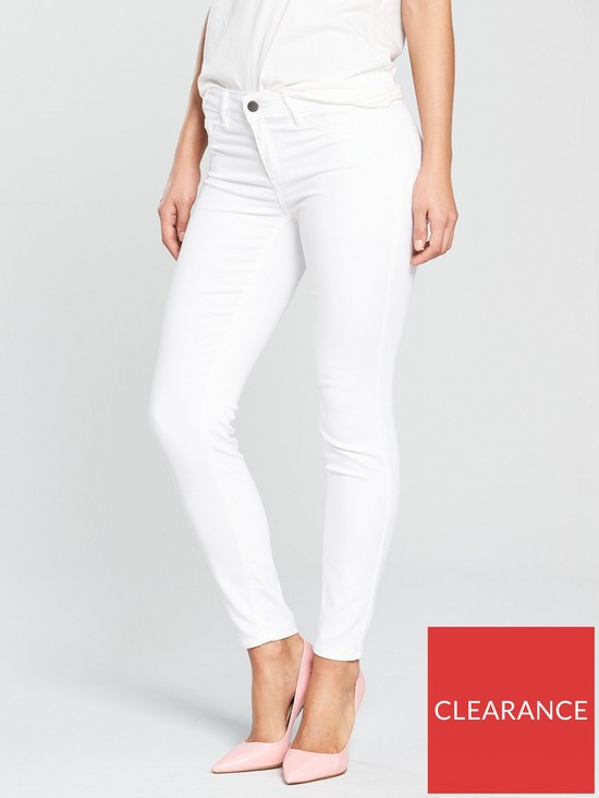 4306aafa585 Vila Commit Jeans - White