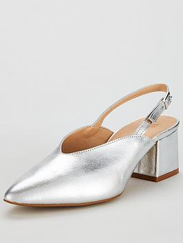 v-by-very-leroux-leather-slingback-court-silver