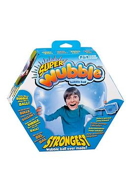 Wubble Ball Super Wubble With Pump - Blue