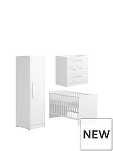 little-acorns-little-acorns-portofino-cotbed-dresser-amp-single-wardrobe--white