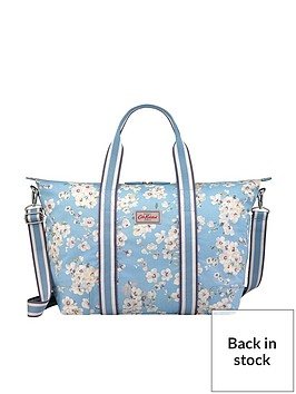 cath-kidston-cath-kidston-wellesley-blossom-foldaway-overnight-bag